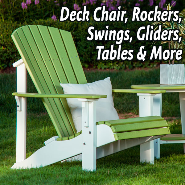 Why Stephen's Poly Outdoor Furniture? - Stephen's Outdoor Furniture : Poly Outdoor Furniture & Decor In Missouri